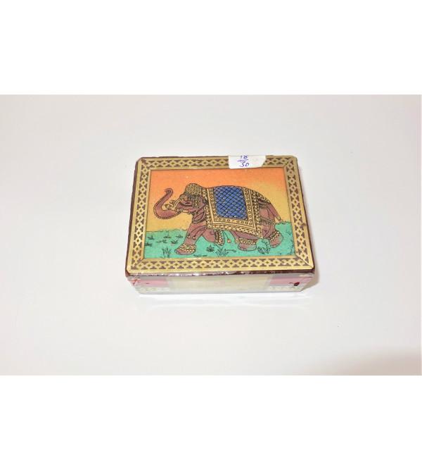 3x4 Gem Stone box Darjeeling tea first