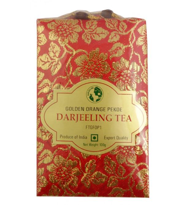 Silk Pouch Darjeeling  Tea 100 GMS