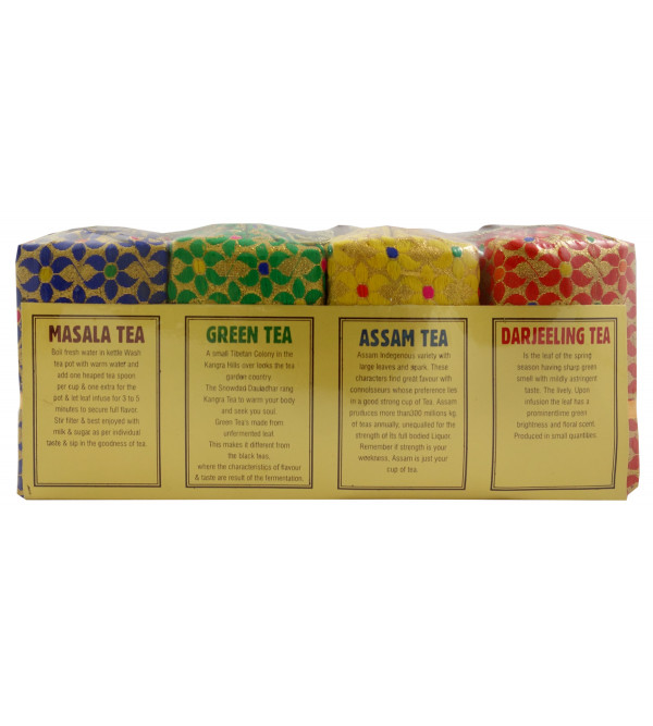 Darjiling Assam Green Masal Silk Pouch 4 IN 1 400 GMS