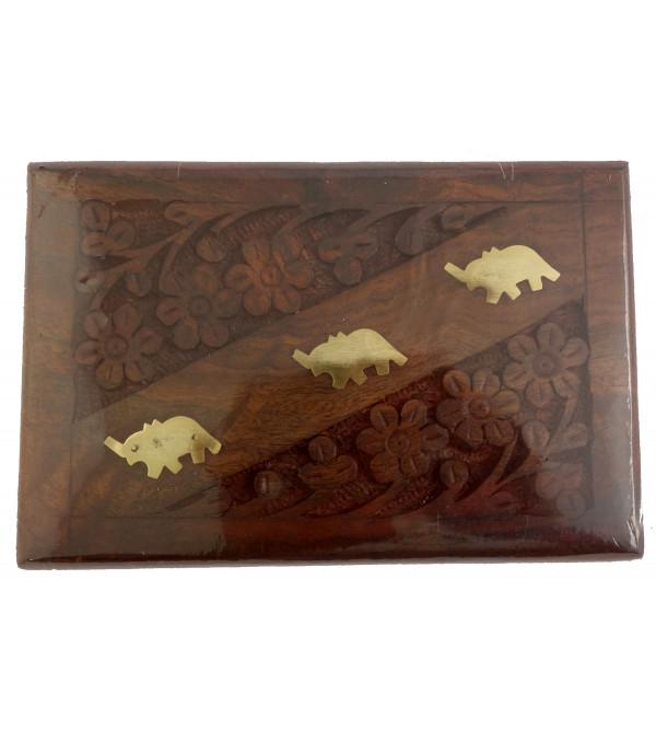 Wooden Box Assam Tea 100 GMS