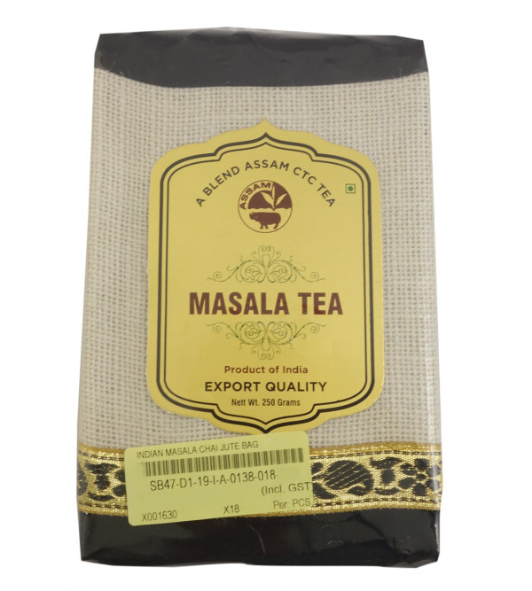 Indian Masala Tea Jute In Bag 250gm