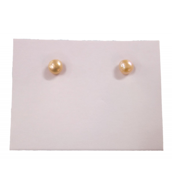 PEARL EARRINGS TOPS 4 MM