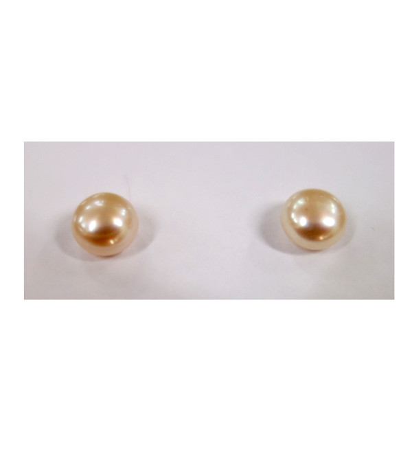 PEARL EARRINGS TOPS 10 MM