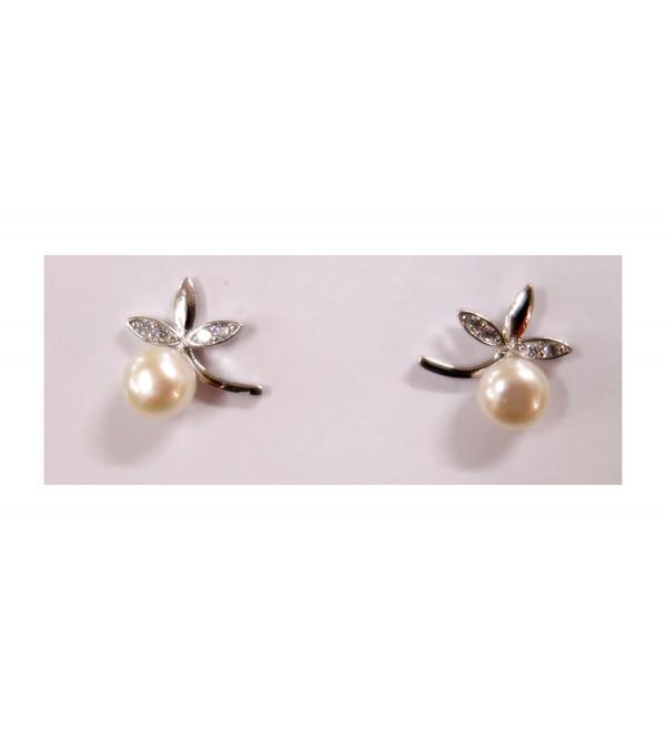 Pearl earring top javanka
