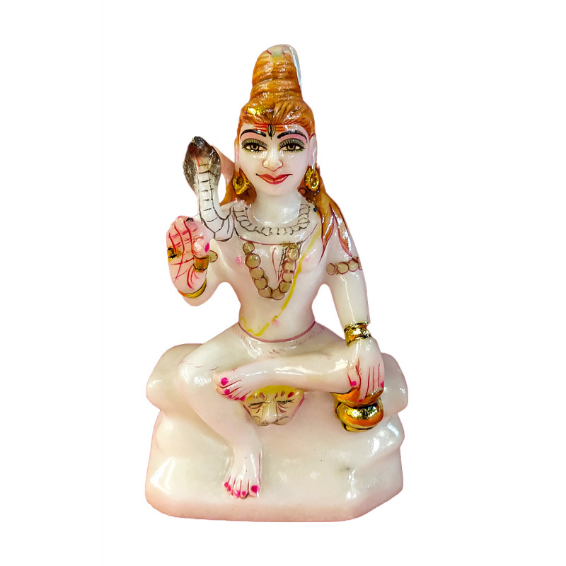 Marble Shanker Statue Size 5 Inch