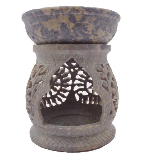 Handcrafted Soft Stone Oil Burner Diffuser Size 3.5 Inch