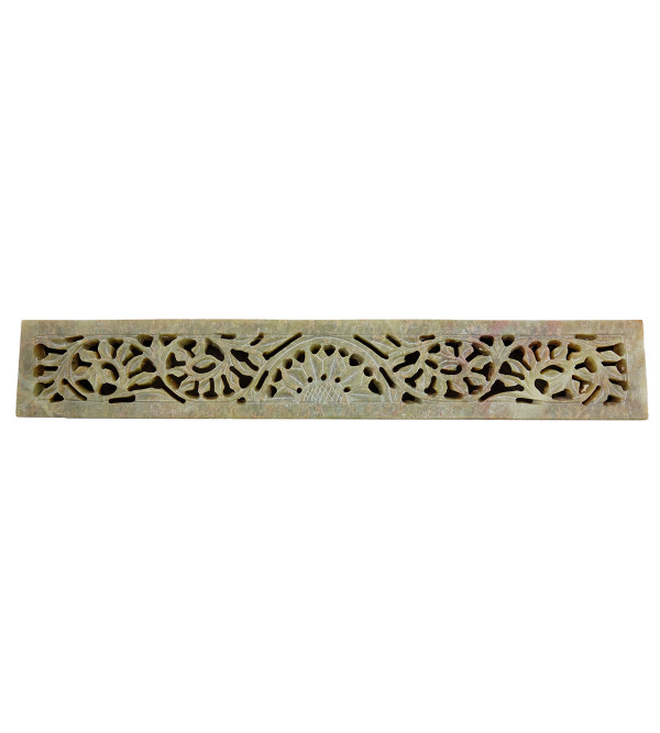 Handicraft Soft Stone Box 10x1.5 Inch