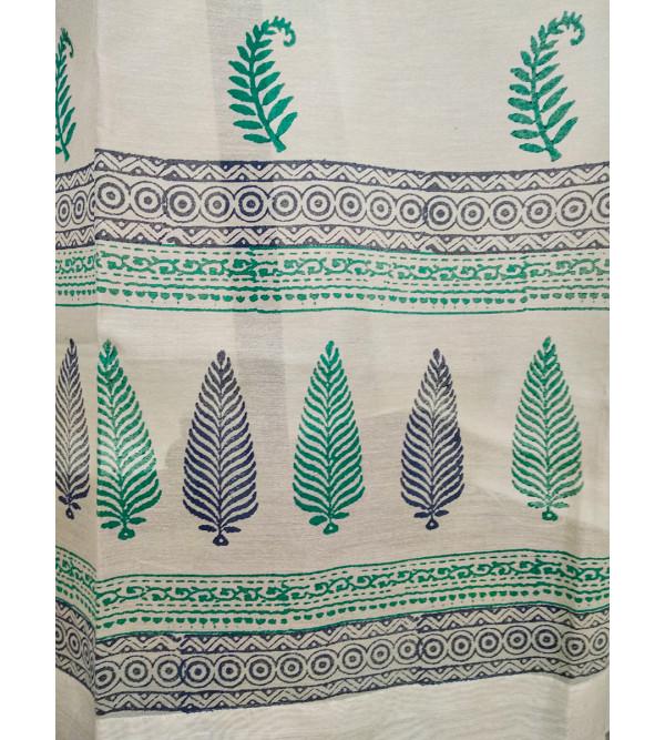 Chanderi handwoven Curtain Size 44x84 Inch