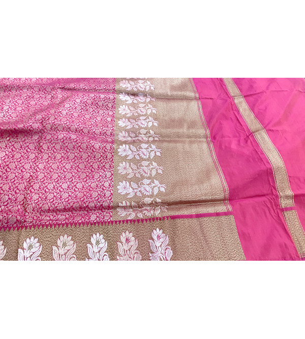 Banaras silk zari saree with blouse
