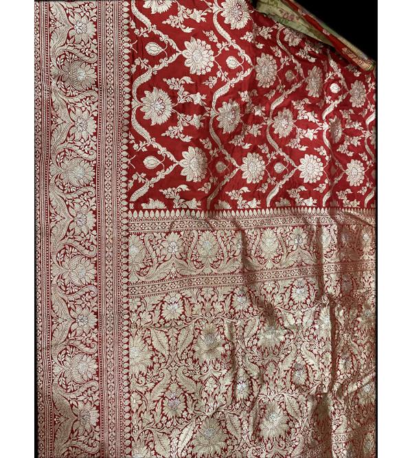 Banaras silk zari PREMIUM SAREE with blouse