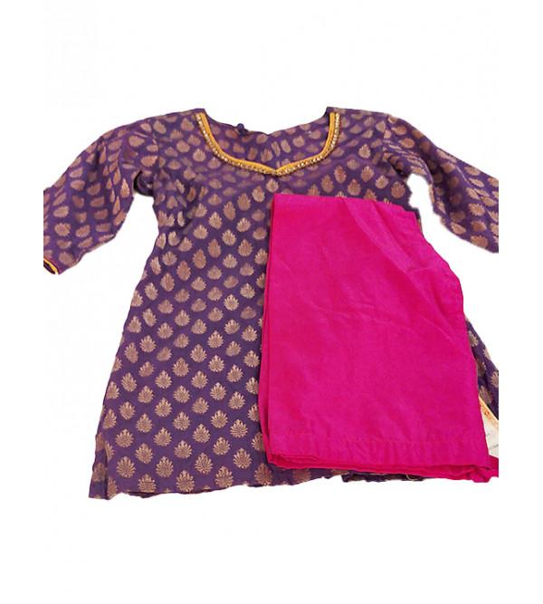 Bracade Salwar Kameez Set Size 2 to 4 yr