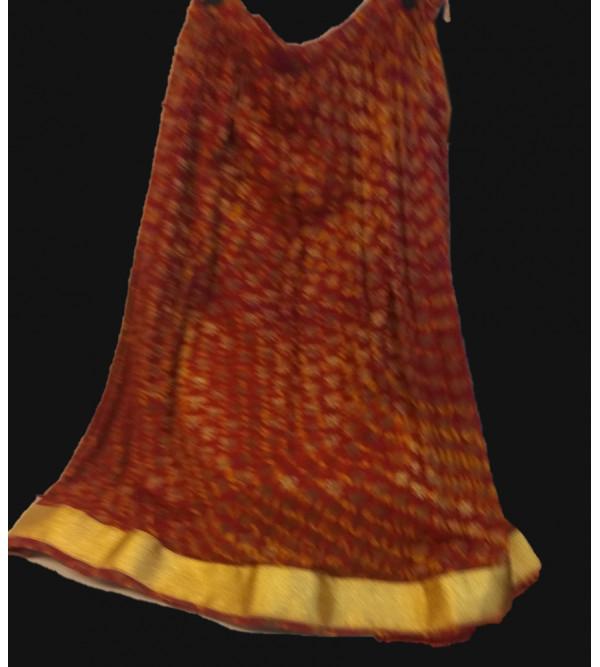 Brocade Silk Lehenga Choli Set Size 6 To 8 Years