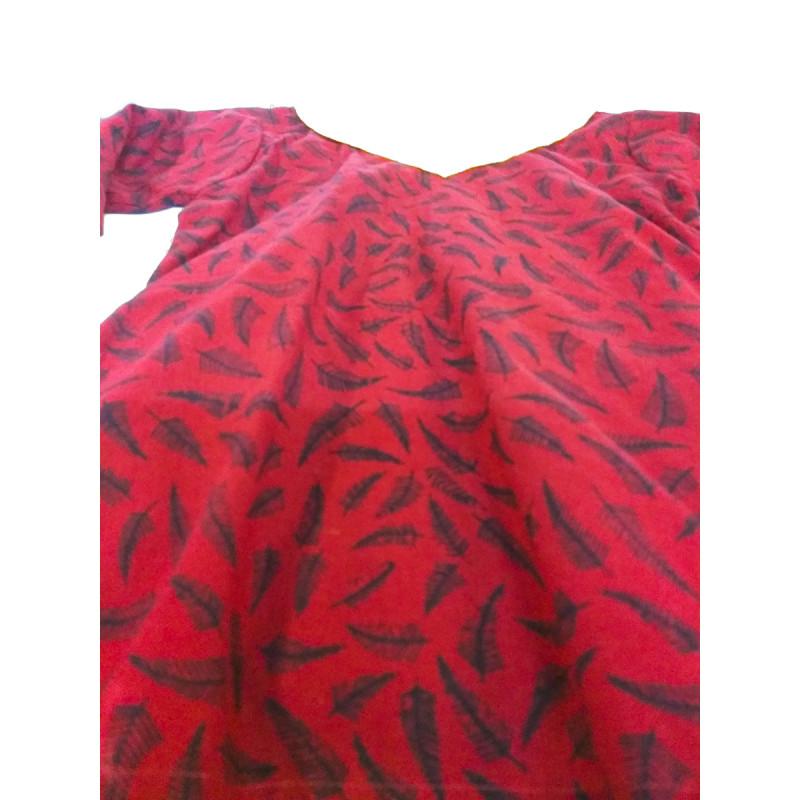 Cotton Batik Print Girls Kurta Size 1 to 2 Year