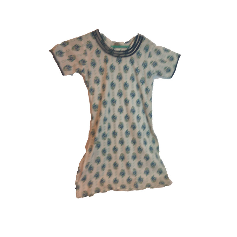 Cotton Printed Girls Long Kurta Size 10 to 12 Year