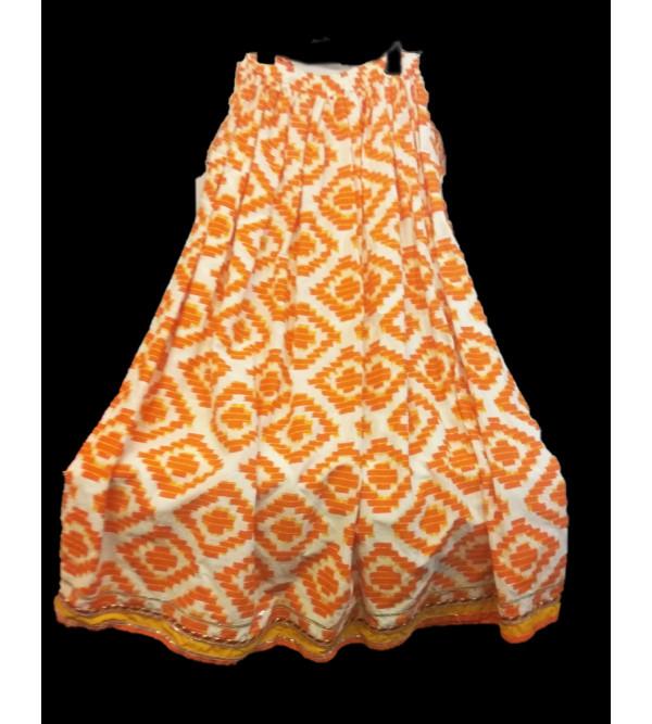 Cotton printed Lehenga Choli Set Size10 to 12 Yr