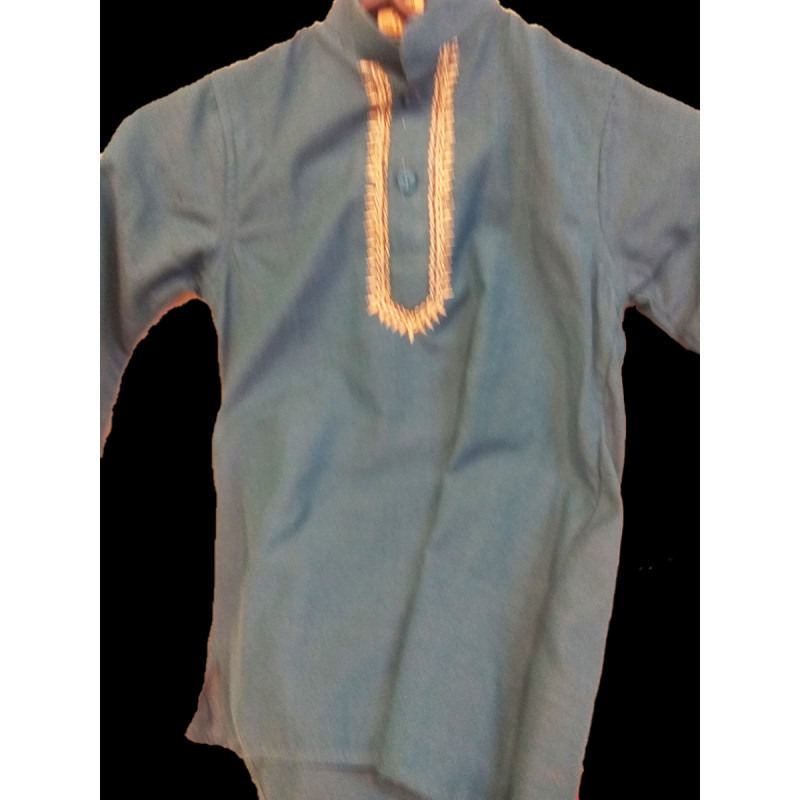 Cotton Kurta Pyjama Set Size 1-2 Years