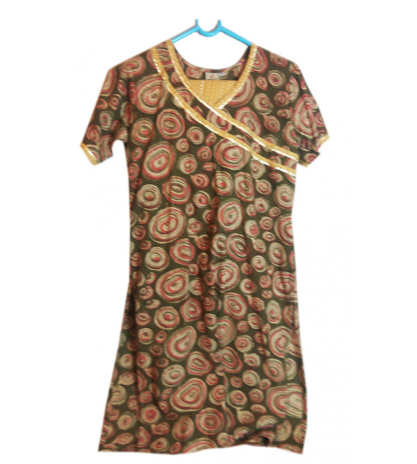 Cotton Printed Salwar Kameez Set Size10 to 12 yr