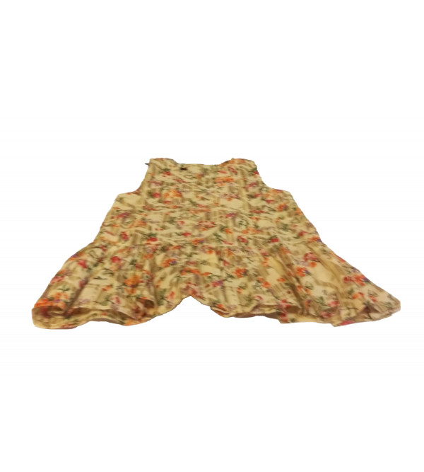 Cotton Printed Frock For Girls Size 1 to 2 Year