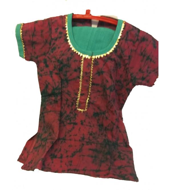 Cotton Kurta  Set  For Girls Size 1 to 2 Year