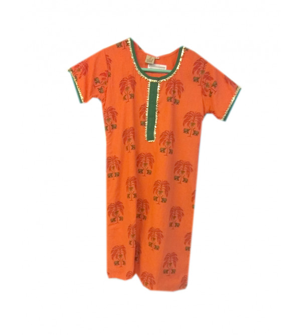 Cotton Printed Kameez Size 8 to 10 Year