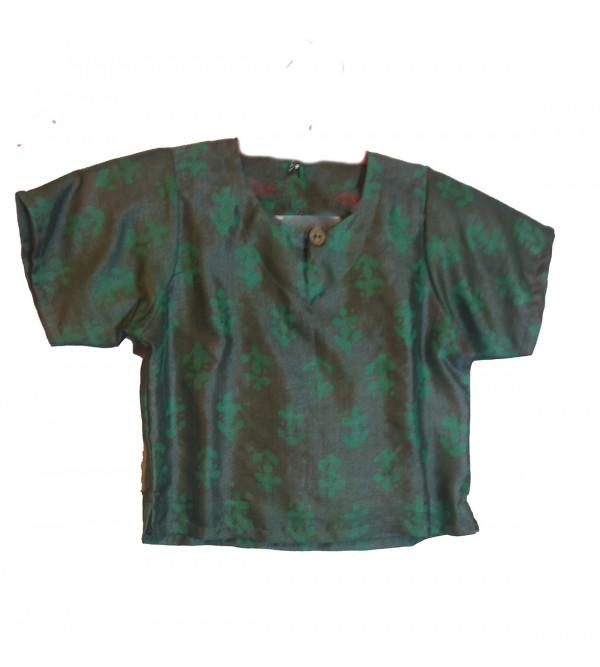 Silk Batik Printed Kurtis Size  1 to 2  Year