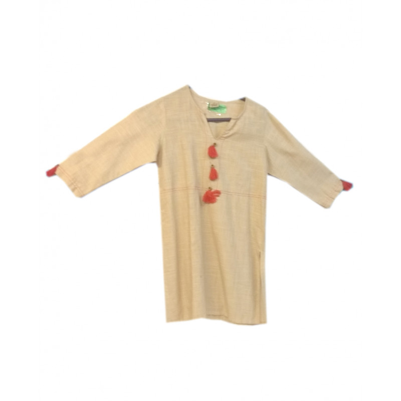 Cotton KurtiTop For Girls Size 6 to 8 yr