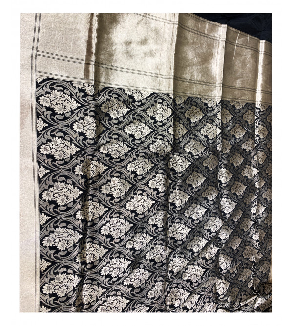 Banaras silk zari jal HANDLOOM SAREE with Blouse