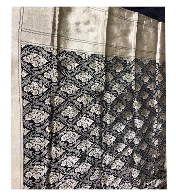 Banaras silk zari jal HANDLOOM SAREE with Blouse