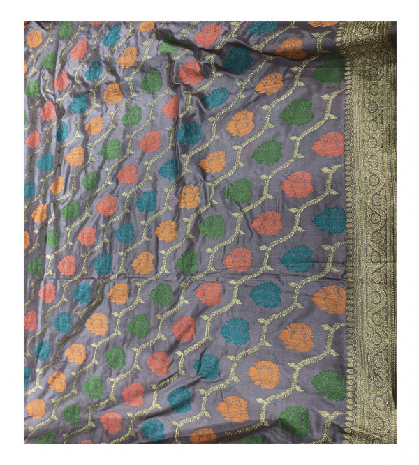 CFC Banaras silk HANDLOOM SAREE with Blouse