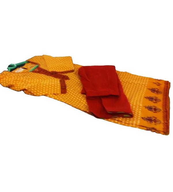 Cotton Printed Salwar Kameez Set Size 4 to 6 Yr