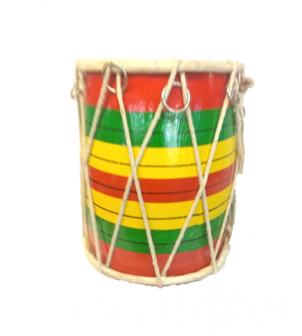 Dholak small of 8 inches in size.Musical  Handcrafted Dholak Size8 Inches