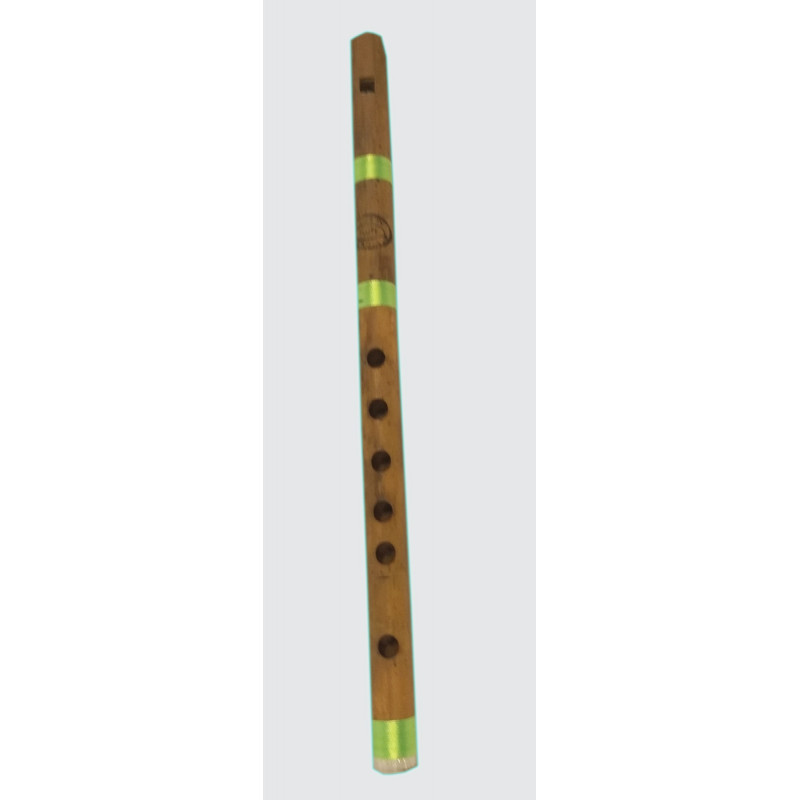 Musical Instrument Flute Hand Crafted In Delhi Size 13 Inch
