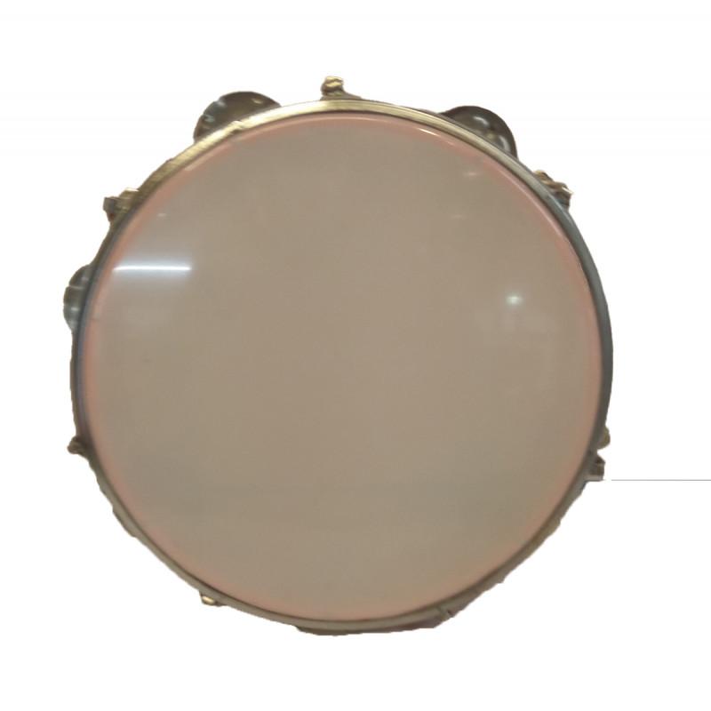 Musical Instrument Dafli Hand Crafted In Delhi Size 8x1.5 Inch