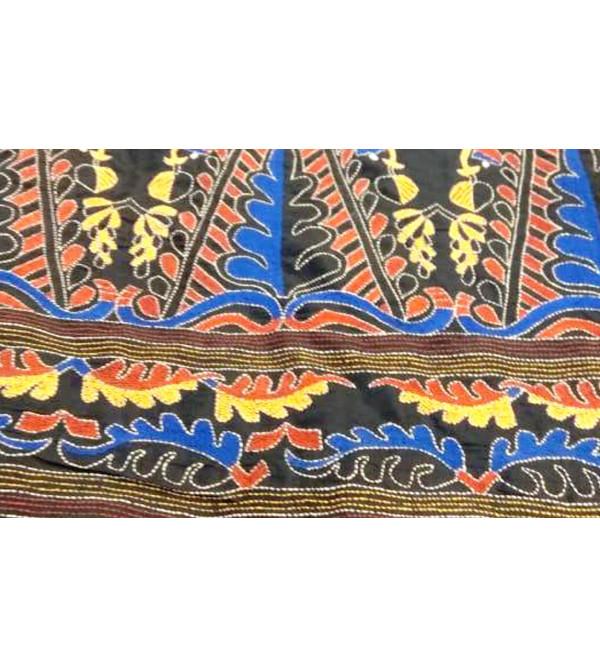 Handloom Kantha Premium Silk Saree