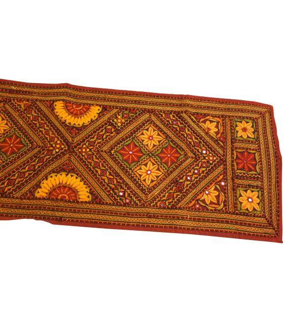 HANDICRAFT TABLE RUNNER COTTON 15X70 INCH