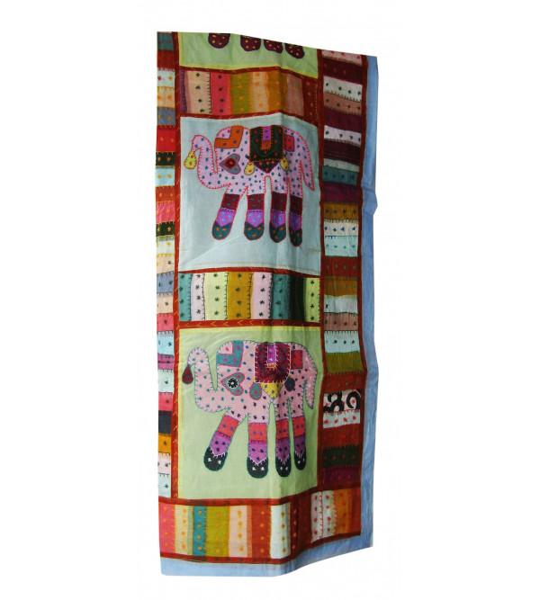 Curtain Window Emb. 44 X60 Inch Rajasthan