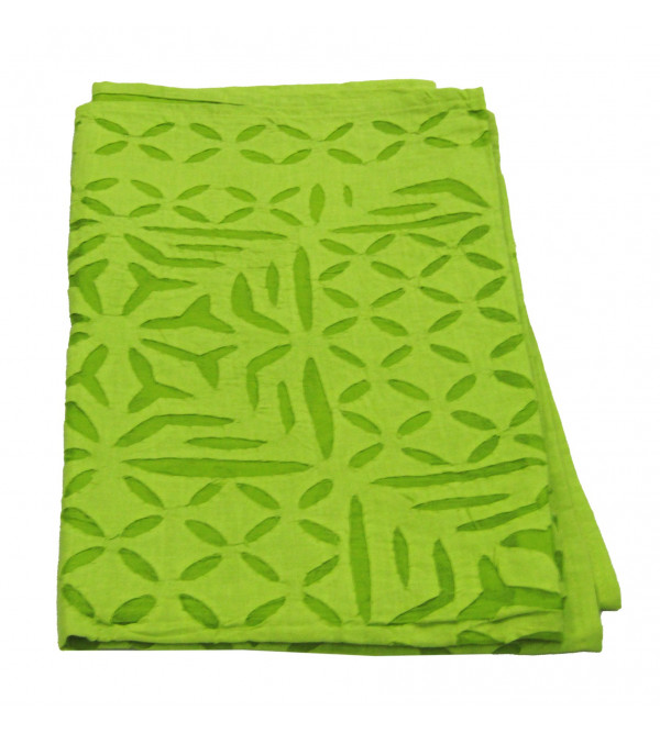Table Cloth Applique Work Size  36 X36 Inch