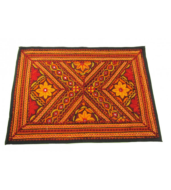 Mat Dhaa Embroidery Size  13 X19 Inch