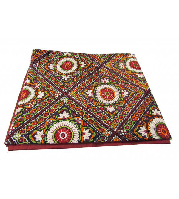 Bed Cover Dhaa Fine Embroidory Size 90 X108 Inch