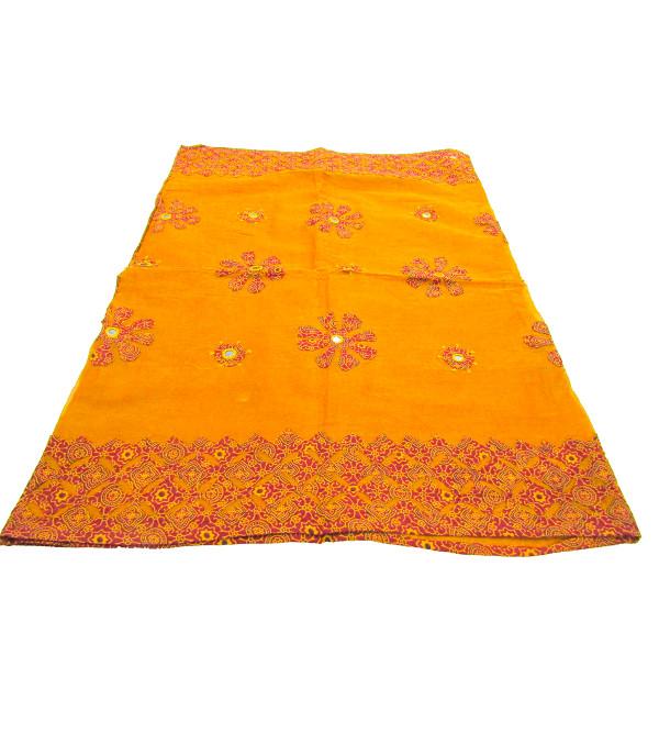 Applique Cotton Dupatta  Ajrakh Print 100 X 36 Inch Assorted Colour