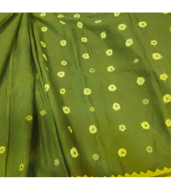 Assorted Cotton Hand woven Saree without Blouse