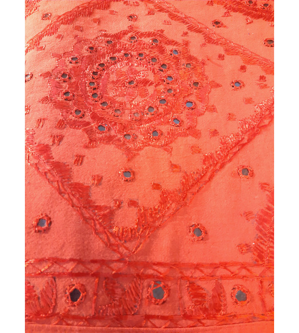 Bed Cover Cotton Emboridered Rajasthan  90x108 inch