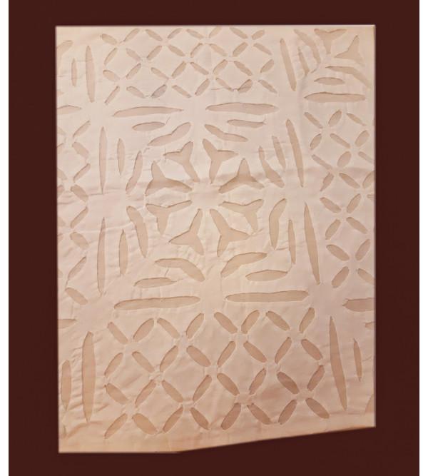 Cotton Applique Work Napkin Size  16x16 Inch