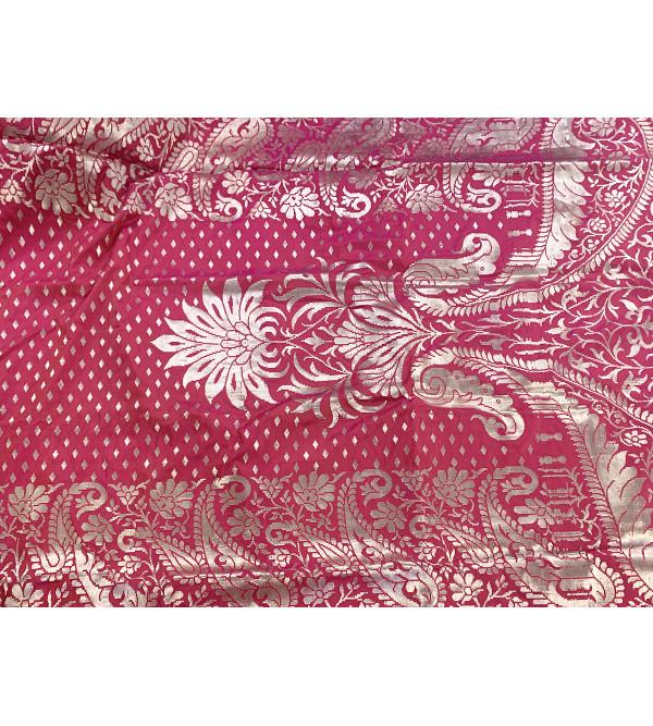 Banaras zari katan silk saree with blouse