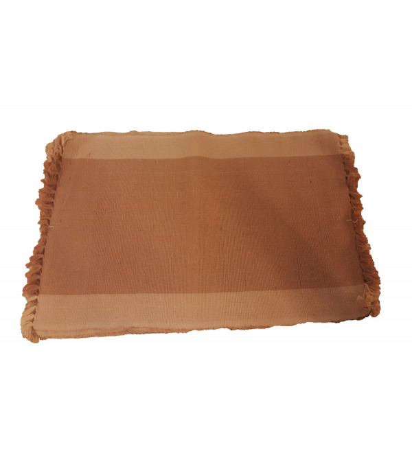 Cotton Handwoven Mat Set Size 13x19 Inch