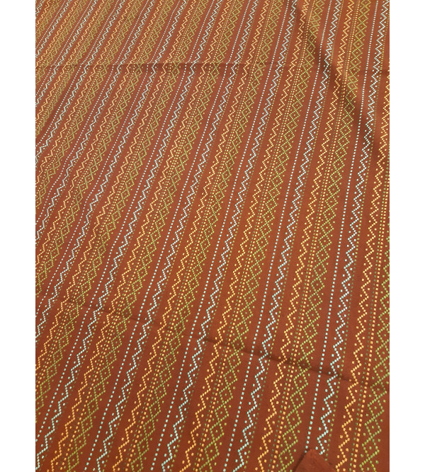 Cotton Woven Handloom Bed Cover Size 90x108 Inch