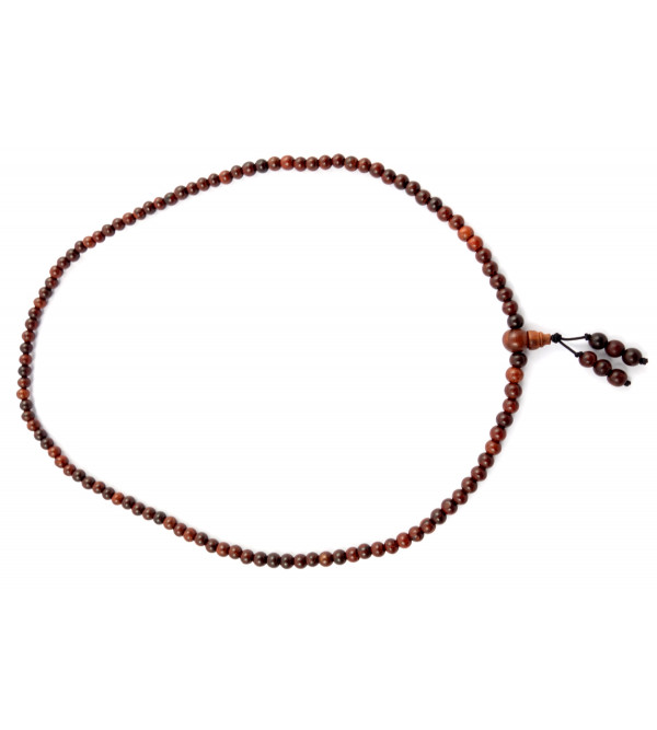 Handicraft Red Sandalwood Japmala 6 MM 108 Beads