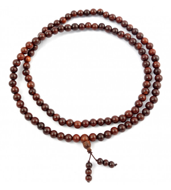 Handicraft Red Sandalwood Japmala 8 MM 108 Beads