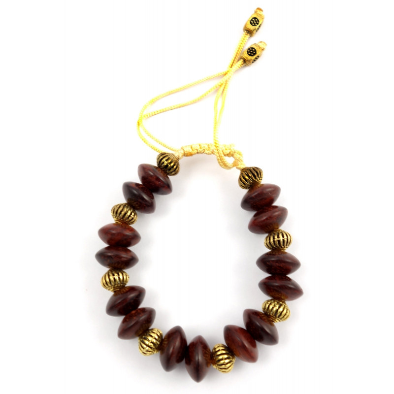 Handicraft Red Sandalwood Bracelet 12 MM