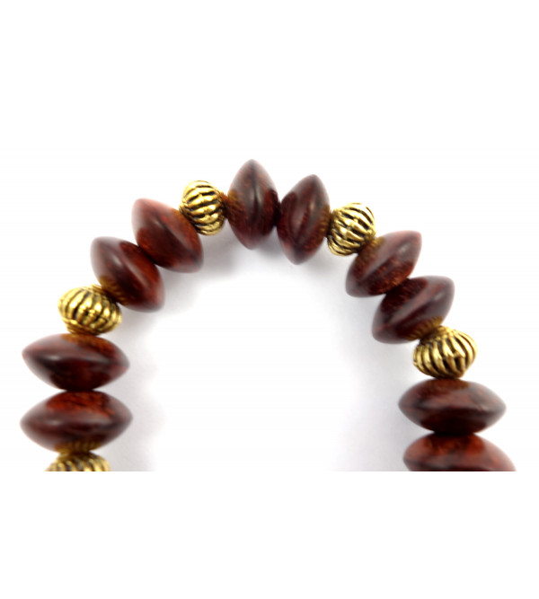 Handicraft Red Sandalwood Bracelet 12 MM
